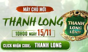 Nhận CODE THANH LONG NGAY!