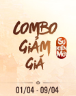 Combo Giảm Giá-Quốc Giỗ (01/04 - 09/04)