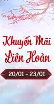 [20/01 - 23/01]#HOT#HOT#HOT  Khuyến Mãi Liên Hoàn- Ngập Tràn Quà Tặng