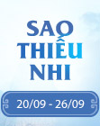 [20/09 - 26/09] SAO THIẾU NHI